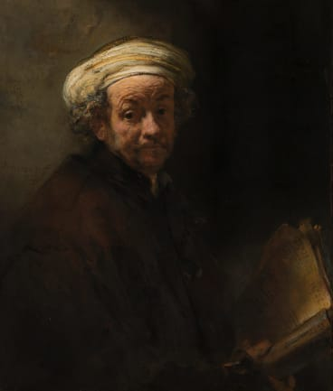 Rembrandt Self-portrait as the Apostle Paul (1661).
