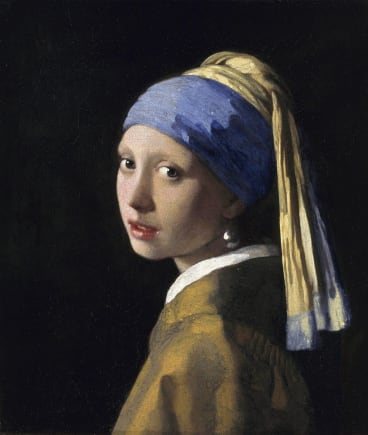 Vermeer's Girl With A Pearl Earring.