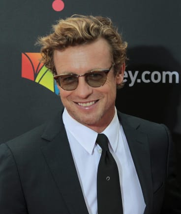 Simon Baker on the AACTAs red carpet.