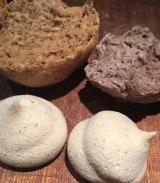 Fiona Porteous's pepperberry bread rolls and lemonberry meringues.