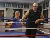 Fight sponsor and former Carlton Crew boss Mick Gatto.