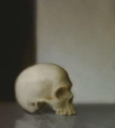 Skull, 1983, oil on canvas