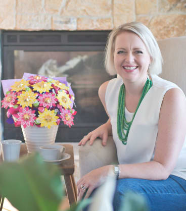 Edible Blooms founder Kelly Baker-Jamieson relies heavily on online search but believes word of mouth is also important.