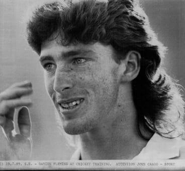 Damien Fleming in 1989.