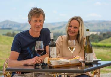 Paul Evans and Sonja Herges at Sedona Estate.
