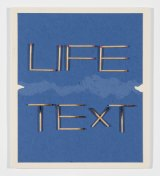 Alex Selenitsch's Life/text at Heide represents the artist's amusing constructions since 1969.