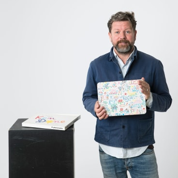 Comedian Tim Ross has curated a new exhibition at the Powerhouse called <i>Design Nation</i>.