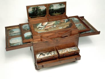 Dixson collector's chest c. 1818-20, encapsulates the doctrines of the Enlightenment.
