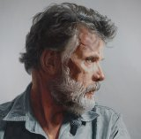 Russell Kiefel portrayed in <i>A Familiar Face</I> by Demian Carey Gibbins.