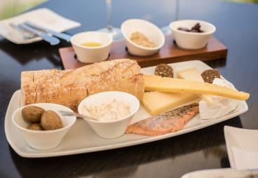 A platter served at Sedona Estate.