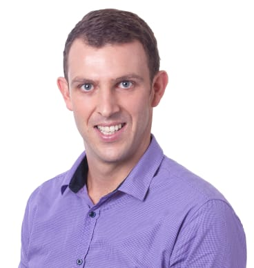 Paddy O'Sullivan owns the Mortgage Choice franchise in Nowra and is thinking about how to prepare for a rate rise.