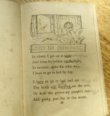 Author Bernice Barry's annotated childhood copy of <i>A Child's Garden of Verses</i> by Robert Louis Stevenson.