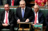 Treasurer Scott Morrison delivering the May 2016 budget.