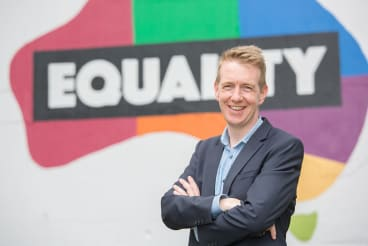 Tiernan Brady, executive director of the Equality Campaign.