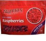 Recalled: Nanna's frozen raspberries.