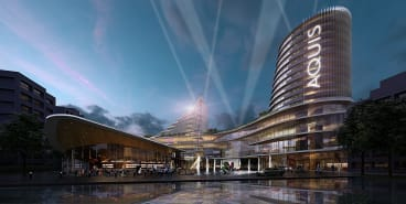 An artist's impression of the rebuilt Casino Canberra.