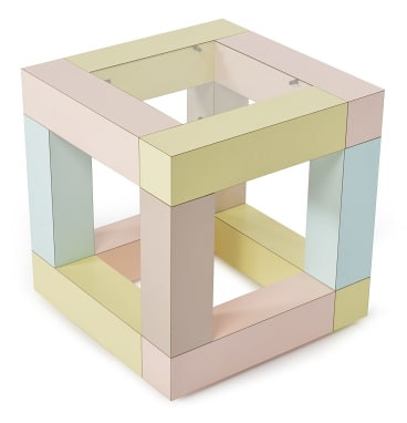 Ettore Sottsass 'Mimosa' occasional table for Memphis Milano, $1500-2500.