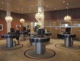 The stylish lobby of the Radisson Blu Royal Hotel, featured in <i>The Bridge</i>.