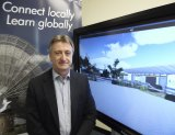 Chris Robertson is the acting principal of Aurora College, NSW's first virtual school.