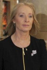 Karen McNamara arrives at the ICAC on Friday.