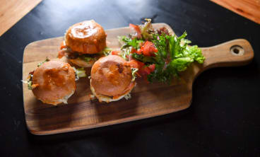 Pork sliders at Jimmy Watson's.