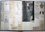 The Bendigo exhibition includes Marimekko work books.
