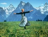 Julie Andrews in a scene from the film The Sound of Music.