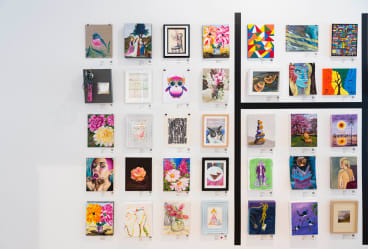 The Linden Postcard Show will be held at Domain House (Dallas Brooks Drive, South Yarra).