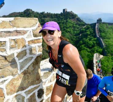 The Great Wall of China marathon.