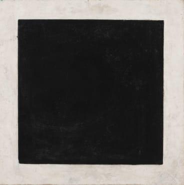 Black Square by  Kazimir Malevich.
