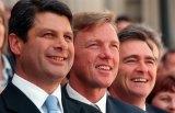 Then Victorian premier Steve Bracks, John Thwaites and John Brumby were a formidable team.