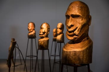 French-Algerian artist Kader Attia explores ideas around cultural exchange, appropriation, and the tangled relationship between North Africa and the West in his self-titled exhibition.