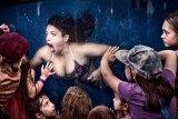Johannes Reinhart won the $50,000 Moran Contemporary Photographic Prize for <i>Mermaid Show</i>.