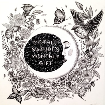 Mother Nature's Monthly Gift by Alexia Brehas.