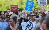 The Let Them Stay rally in Melbourne this week.