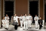 Social satire: W!LD RICE's all-male production of Oscar Wilde's The Importance of Being Earnest plays the Brisbane Festival.