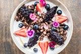 Like a lamington: Cacao and puffed quinoa granola.