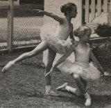 """Turner (left), aged five. Her childhood was consumed by ballet, she says: """"€œI was never allowed to play."""""""