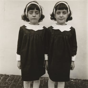 Diane Arbus,  Identical twins, Roselle, NJ, 1967.