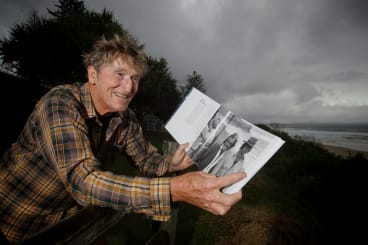 Life of a legend: Rusty Miller is still teaching surfing and writing books.