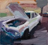 Ben Quilty's, Torana no. 5 (detail), 2003.