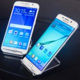 Alternatives: The straight Galaxy S6 and the curvy Galaxy S6 Edge.