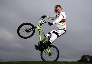 BMX star Caroline Buchanan wants to build a dual purpose BMX and mountain biking track in Canberra.
