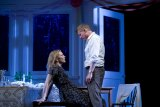 Cate Blanchett and Richard Roxburgh in Sydney Theatre Company's production of <i>The Present.</i>
