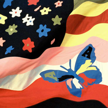 A butterfly flag heralds the arrival of the new Avalanches album.