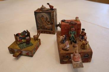 Toys inside Maurice Sendak's archive.