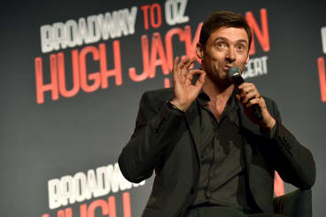 Hugh Jackman out of costume.