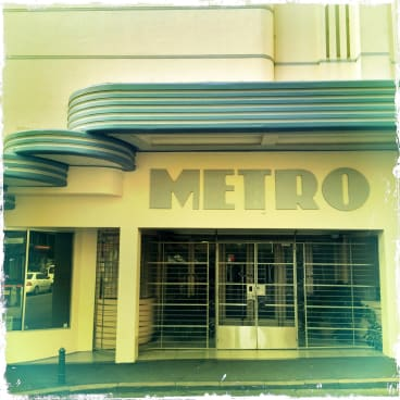 The art-deco Metro in Sydney's Kings Cross is now a recording studio and sound stage.
