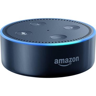 Amazon Echo Dot: Fine for spoken word, but not bass-heavy songs.