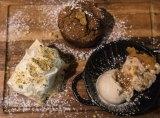 The dessert platter.
